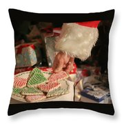 Santas Cookies Throw Pillow