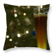 Santas Gift 2 Throw Pillow