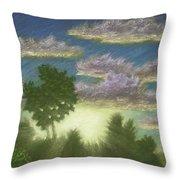 Santee Sunset 01 Throw Pillow
