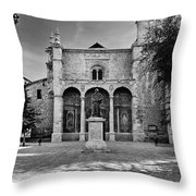 Santo Domingo Church Throw Pillow