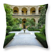 Santo Domingo Courtyard Throw Pillow