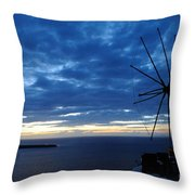 Santorini - Greece Throw Pillow