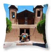 Santuario De Chimayo 2 Throw Pillow