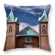 Santuario De San Lorenzo Throw Pillow