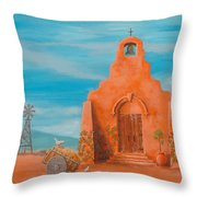 Santuario Throw Pillow