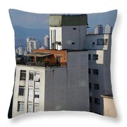 Sao Paulo Penthouse Throw Pillow