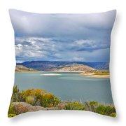 Sapinero Curecanti Recreational Area Colorado Throw Pillow
