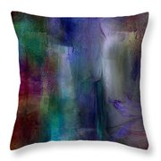 Sapphire Springs Throw Pillow