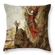 Sappho In Lefkada Throw Pillow