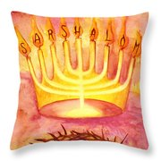 Sar Shalom Throw Pillow