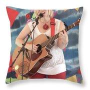 Sara Hickman Throw Pillow