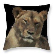 Sarafina V7 Throw Pillow