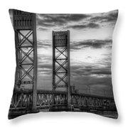 Sarah Long Bridge  Throw Pillow