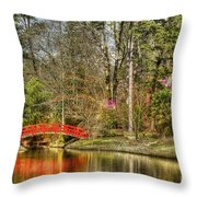 Sarah P. Duke Gardens Throw Pillow