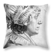 Sarah Tayloe Washington (1765-1835) Throw Pillow
