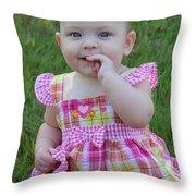 Sarah_3892 Throw Pillow