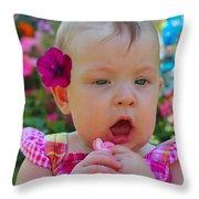 Sarah_3931 Throw Pillow