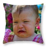 Sarah_3933 Throw Pillow