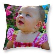Sarah_3958 Throw Pillow