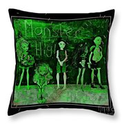 Sarah's Monster High Collection Frankenstein Effect Throw Pillow