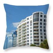 Sarasota Architecture 1 Throw Pillow