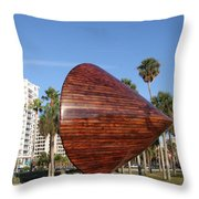 Sarasota - Art 2009 Throw Pillow