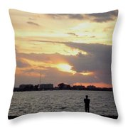 Sarasota 's Sunset Throw Pillow