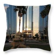 Sarasota Waterfront - Art 2010 Throw Pillow