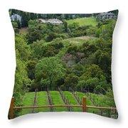 Saratoga California  Throw Pillow