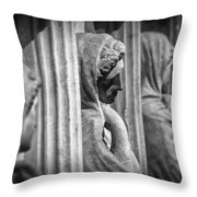 Sarcophagus Of The Crying Women Throw Pillow by Taylan Apukovska