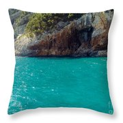 Sardegna Sea Throw Pillow