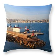 Sardinia - Porto Torres Throw Pillow