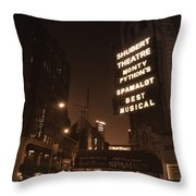 Sardi's Throw Pillow