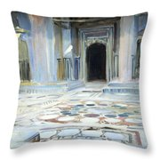 Sargent's Pavement In Cairo Throw Pillow