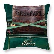 Sarsaparilla Throw Pillow