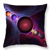 Satellite Throw Pillow by Kim Sy Ok