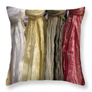 Satins Di Venezia Throw Pillow
