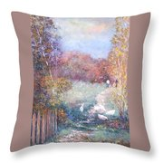 Saturday Afternoon Adventure Throw Pillow