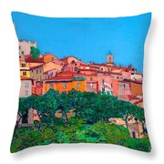 Saturina Throw Pillow