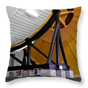 Saturn V Launch Vehicle Closeup Throw Pillow by Kirsten Giving