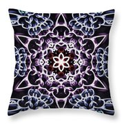 Saturnian Solidity Throw Pillow
