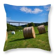 Sauertalbrucke Throw Pillow