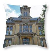 Saugus Town Hall Throw Pillow