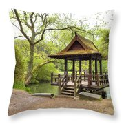 Saumarez Park - Guernsey Throw Pillow by Joana Kruse