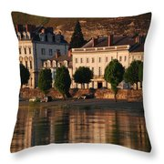 Saumur Reflected Throw Pillow