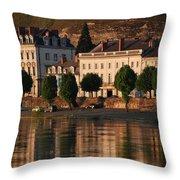 Saumur Reflected Throw Pillow
