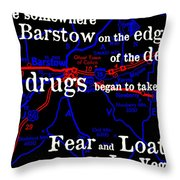Savage Journey Throw Pillow by Benjamin Yeager