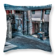 Savannah Alley Throw Pillow