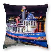 Savannah Belle Dot Ferry Throw Pillow