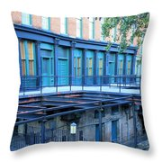 Savannah Blues Throw Pillow